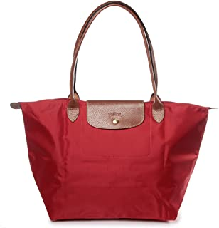 Longchamp Le Pliage Longhandle ToteBag Large Rouge (Red)
