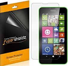 (6 Pack) Supershieldz for Nokia Lumia 635 and Nokia Lumia 630 Screen Protector, High Definition Clear Shield (PET)