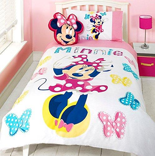 Disney Store - Juego de Funda nórdica para Cama Individual, diseño de Mickey Mouse