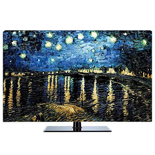 SAMZO Cubierta de TV LCD cubierta colgante disponible interior universal antiestático todo incluido diseño