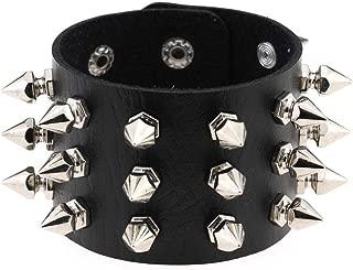 Best spikes stainless steel bracelet Reviews