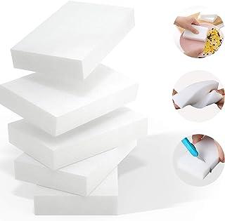 Melamine Sponge,100 Pack Magic Sponge Eraser Extra Thick and Long Lasting Cleaning Sponges in Bulk - Multi Surface Power S...