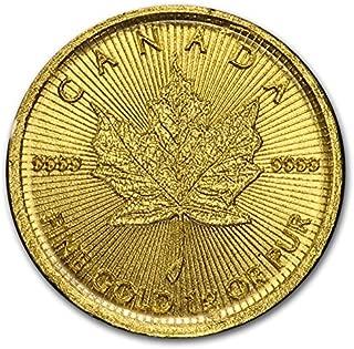 CA 2017 Canadian MapleGram25™ - 25 X 1 Gram Gold Maple Leafs (In Assay) Choice Uncirculated