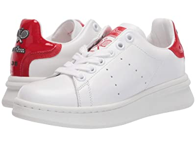 Marc Jacobs The Tennis Shoe (White/Red) Women