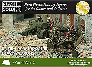WWII Miniatures - British 1:72 Paratroopers Heavy Weapons