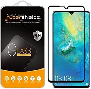 (2 Pack) Supershieldz For Huawei (Mate 20 X) Tempered Glass Screen Protector, (Full Screen Coverage) Anti Scratch, Bubble ...