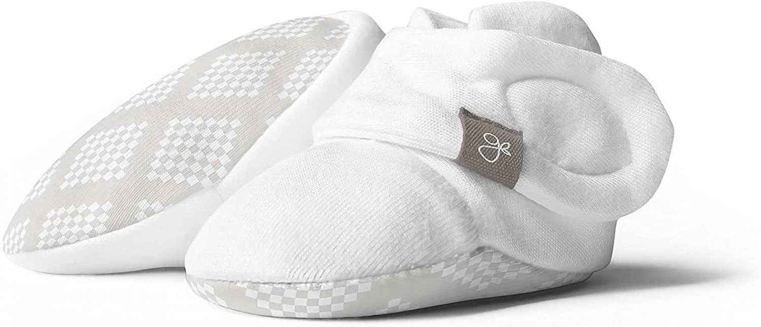 Direct store Bamboo Max 87% OFF Organic Cotton Booties Stay-On Baby