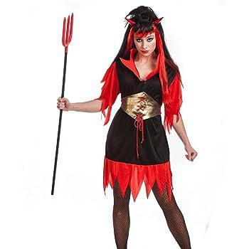 Disfraz de Diablesa para Adultos: Amazon.es: Ropa y accesorios