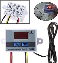 cuigu XH de W3001–220V LED Digital Regulador de temperatura 10A Termostato Controlador Sonda, 60x 45x 31mm