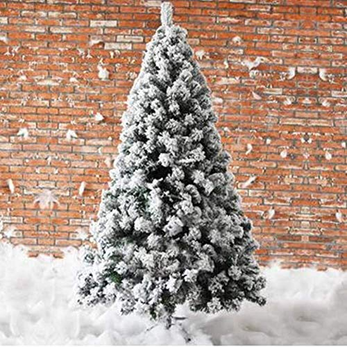 Buy Discount LAOHAO Christmas Tree 1.5M /1.8M /2.1M /2.4M, encryption White Cedar Analog/Snow Flocke...