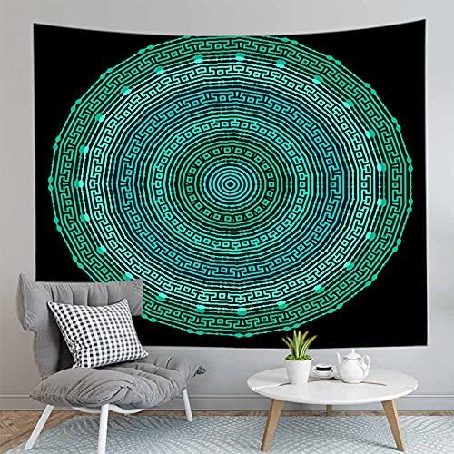 3D Bohemian Mandala Arazzo Montaggio a parete Yoga Casa Camera da letto Decorazione Sfondo Panno Arazzo Coperta A21 73x95cm