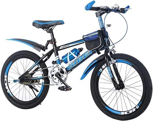 SXMXO Kinderfürrad 18 20 22 Zoll Mountainbikes Jungen mädchen ab 9 Jahre mit V-Brake und Rücktritt - 18 20 22 Zoll BMX Modell 2019,20inch