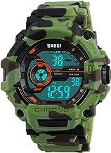 Boys Digital Sports Watch, SKMEI Boys Girls Watches Waterproof Wristwatch LED with Alarm Stopwatch