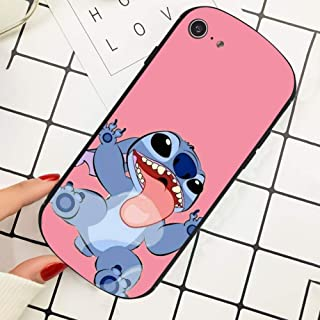 DISNEY COLLECTION Apple iPhone 8 & iPhone 7 [4.7in] Cover Case Disney Wallpaper Lilo Y Stitch Tumblr Cartoon Fashionable