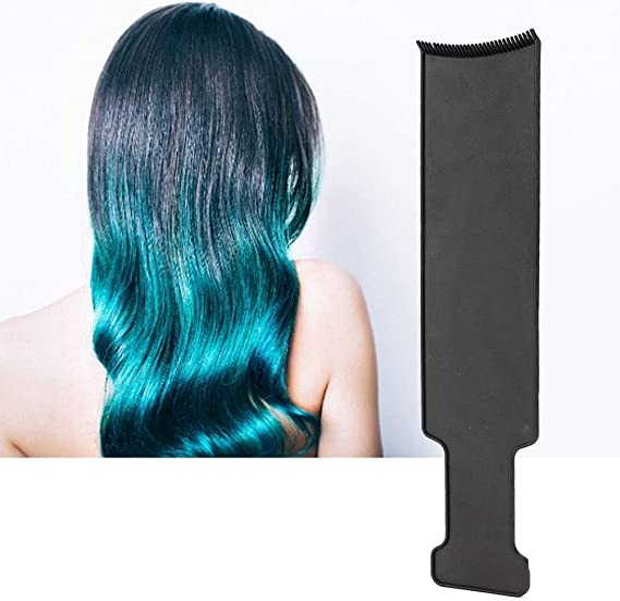Tabla de tinte profesional para el cabello, peine de tinte y cepillo para el cabello para todas las personas, no daña el cabello y manos, herramienta ...