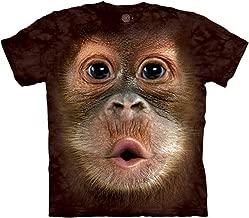 The Mountain Girls' Little Kids Big Face Baby Orangutan