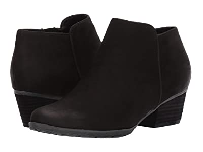 Blondo Villa Waterproof Bootie (Black Leather) Women
