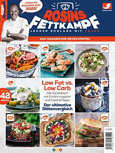 Rosins Fettkampf 2020 - Lecker schlank mit Frank: Das Magazin zur neuen Staffel