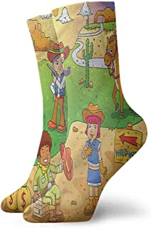 A.M.Feke New Kids Toddlers Girls Big Bow Knee High Long Soft Cotton Lace Baby Socks Wicking Super Heavy