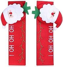 dressplus 24 guantes de 16 cm para manija de puerta, para frigorífico, Navidad, frigorífico, frigorífico, lavavajillas, puerta de Papá Noel, horno de microondas (Santa-1 par)