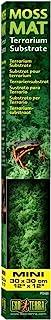 """Exo Terra Exo Terra Moss Mat, 30 X 30 cm (12"""" X 12"""")"""
