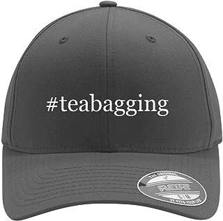 #teabagging - Adult Men's Hashtag Flexfit Baseball Hat Cap