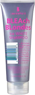 Lee Stafford Bleach Blondes Ice White Silver Toning Shampoo | Silver Shampoo for Blondes