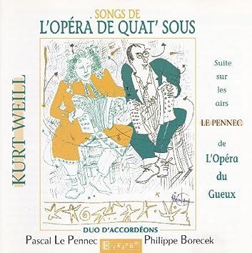 Songs de L'Opéra de quat' sous