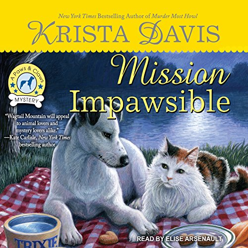 Mission Impawsible audiobook cover art