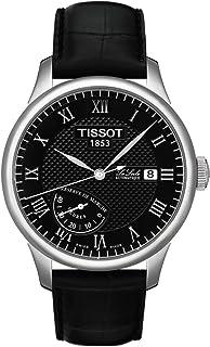 Tissot - T0064241605300 - Reloj analógico automático para Hombre, Correa de Acero Inoxidable Color Negro