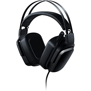 Razer Tiamat 7.1 v2 Gaming Headset: Dual Subwoofers - Audio Control Unit - Rotatable Boom Mic - Works with PC - Classic Black