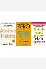 Atomic habits + zero to one + Think and grow rich Unknown Binding