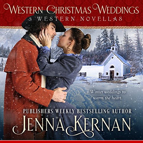 Western Christmas Weddings audiobook cover art