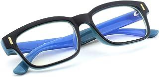 18ea481a34 CGID CT84 Gafas para Protección contra Luz Azul, para Computadora, Lectura,  Video Juegos