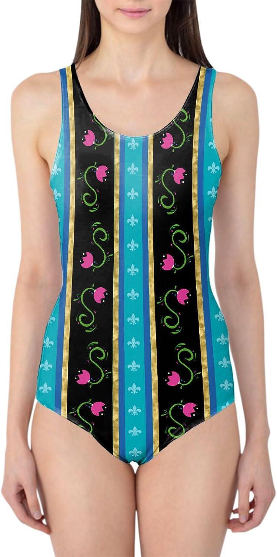 Ice Princess Anna Dress Woherren Swimsuit Badeanzug XS-3XL