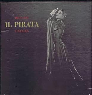 CALLAS Bellini IL PIRATA New York 1-27-1959 - 2 LP box RARE private MRF-51
