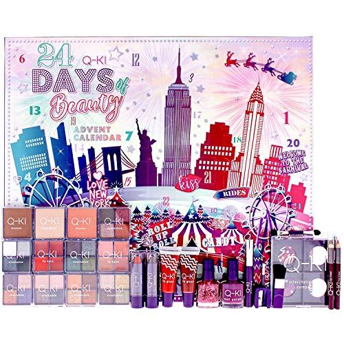 Q-KI - New York Beauty Advent Calendar! Look FAB in The Count Down to The Festive Season!