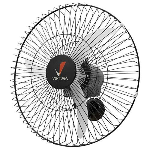 Ventilador Parede Oscilante Venti-Delta Ventura 60 cm 60 Fios Preto - Bivolt