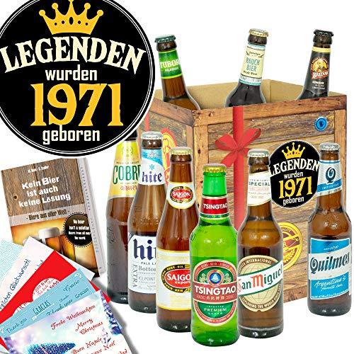 Legenden 1971 ++ Biere aus aller Welt ++ Geschenke Ideen für Sie