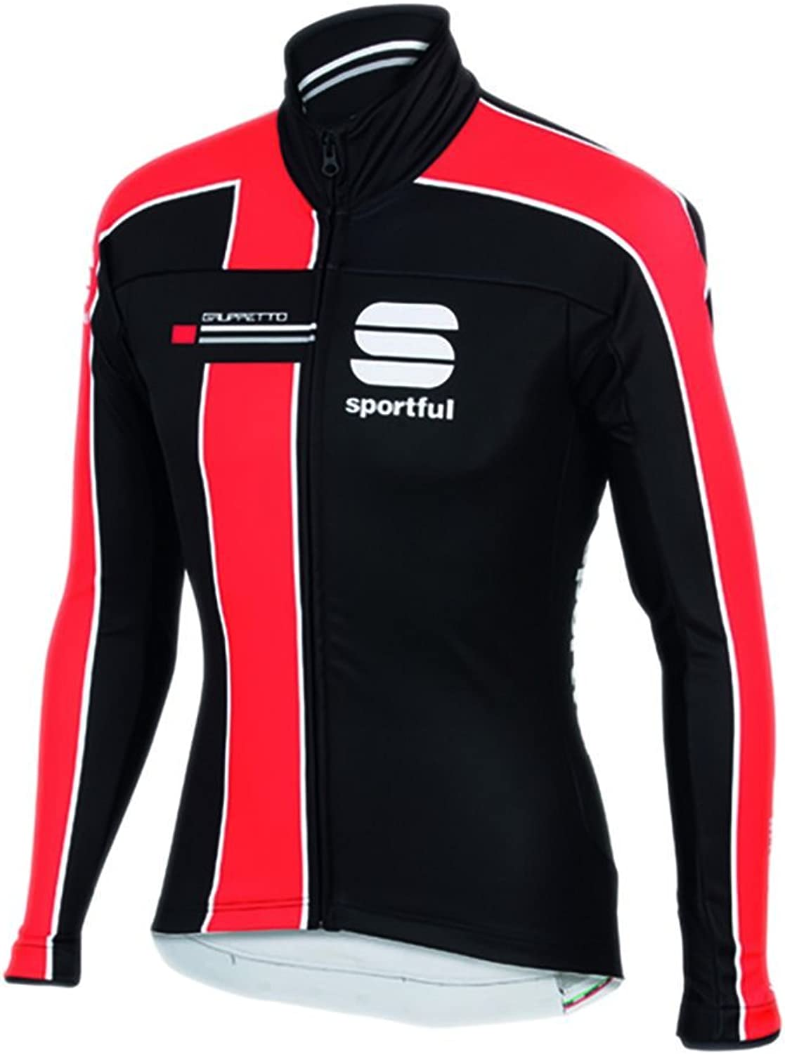 Sportful Jacket Gruppetto Partial WS Windstopper Jacket-Fire Red Black
