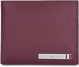 Tommy Hilfiger Burgundy Men's Wallet (TH/CONGOPCW05)