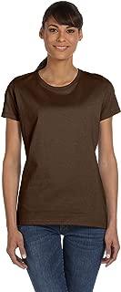 Best womens dark brown t shirt Reviews