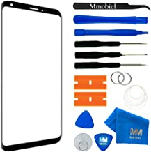 MMOBIEL Front Glass Repair kit Replacement Compatible with LG V30 H930 Series (Black) 6.0 Inch Display incl Tool Kit