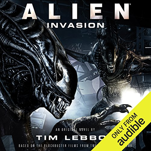 Alien: Invasion audiobook cover art