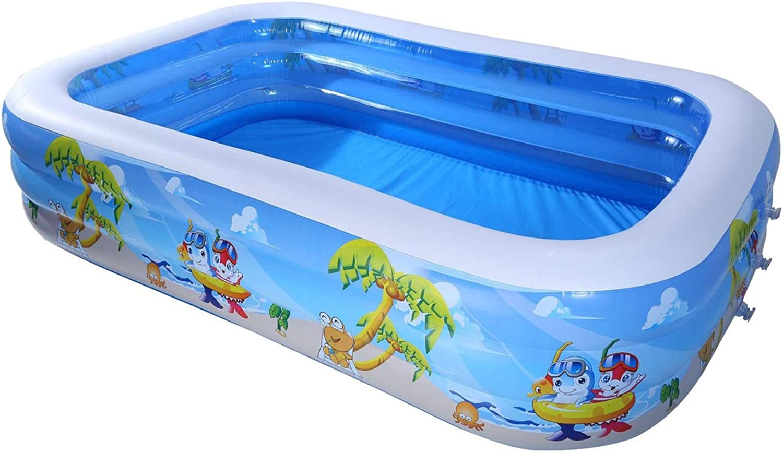 膨脹可能なプール屋内および屋外ののために適した子供の大人の世帯の膨脹可能な浴槽、耐久財 (Size : 200x150x60cm)