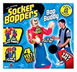 Big Time Toys Socker Boppers Bop Buddy - Standing Inflatable Talking Punching Bag for Kids, Box, Bop, Punch, Great tool for agility-coordination-athletic development, Indoor or Outdoor active play