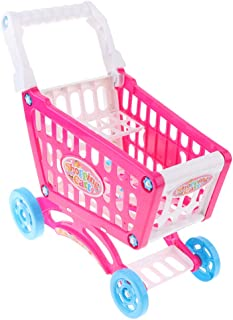 MagiDeal Kids Shopping Cart Toy Supermarket Pretend Grocery Shopping Game Trolley Gift for Kids Toddlers Kids Babies Xmas Gift