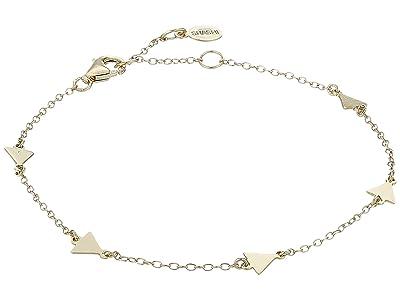 SHASHI Arrow Multi Bracelet (Gold/Vermeil) Bracelet