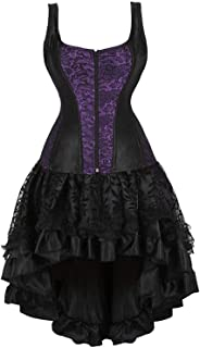 corset dress with straps