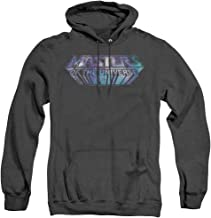Trevco Masters of The Universe Space Logo Unisex Adult Pull-Over Heather Hoodie